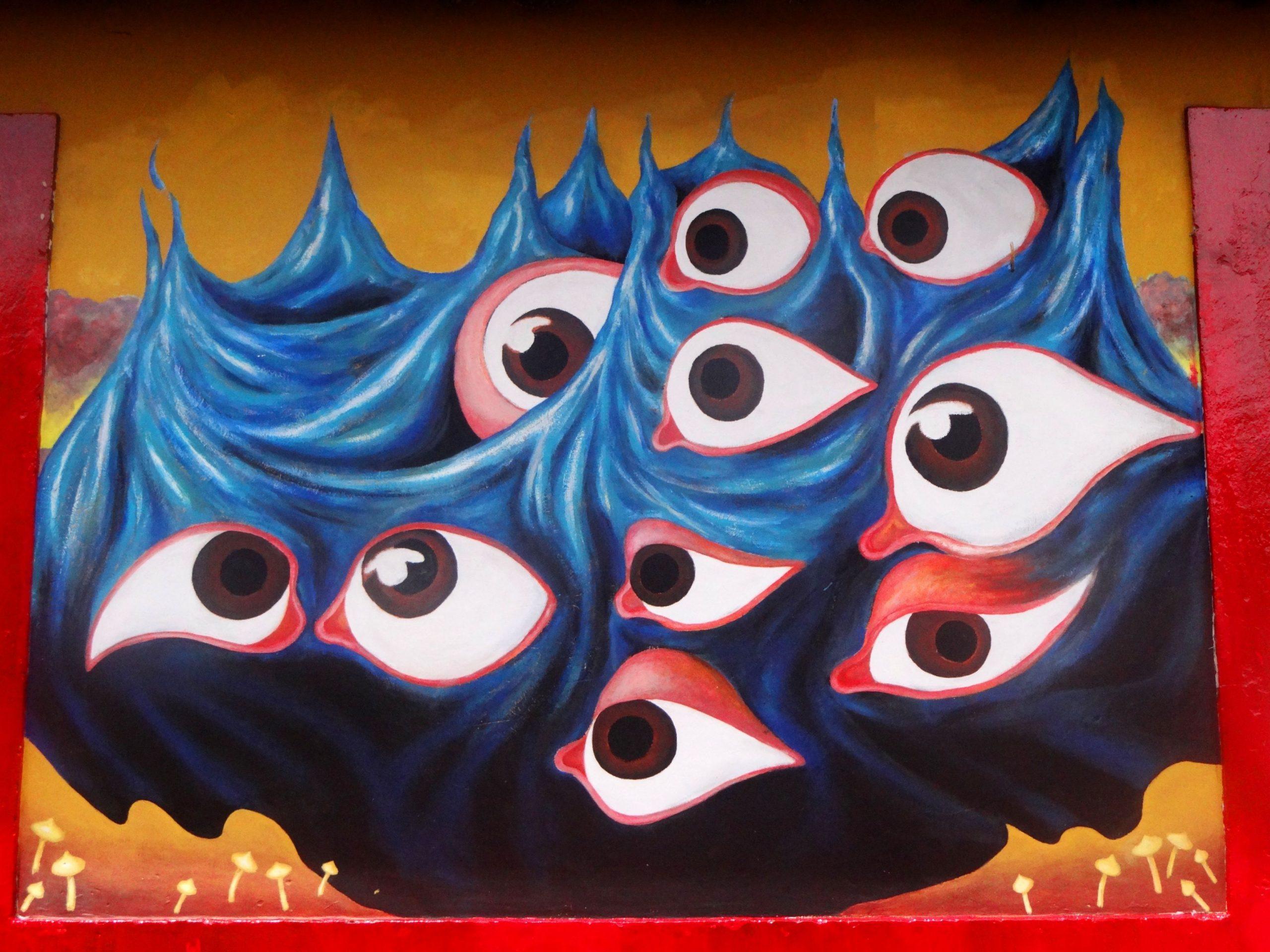 My mural in Bogota