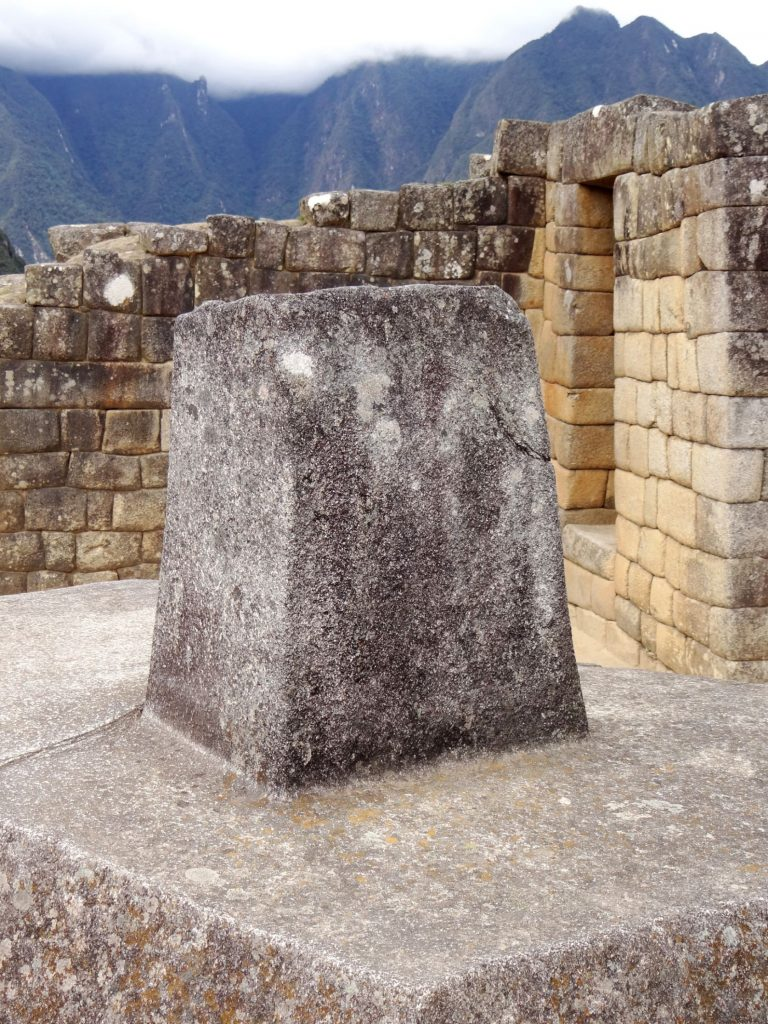 Macch Picchu, hitching post of sun