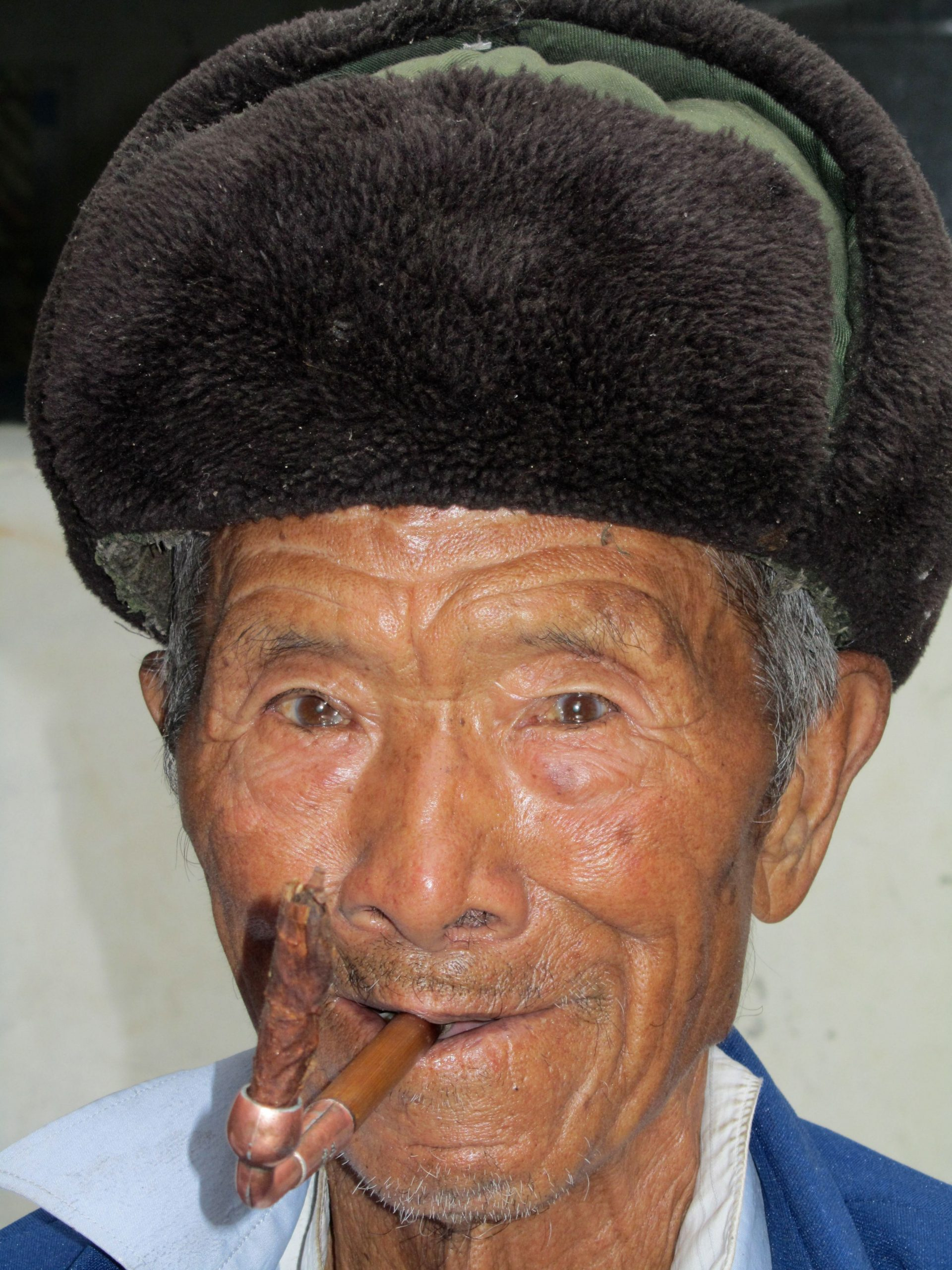 Old man near Dali