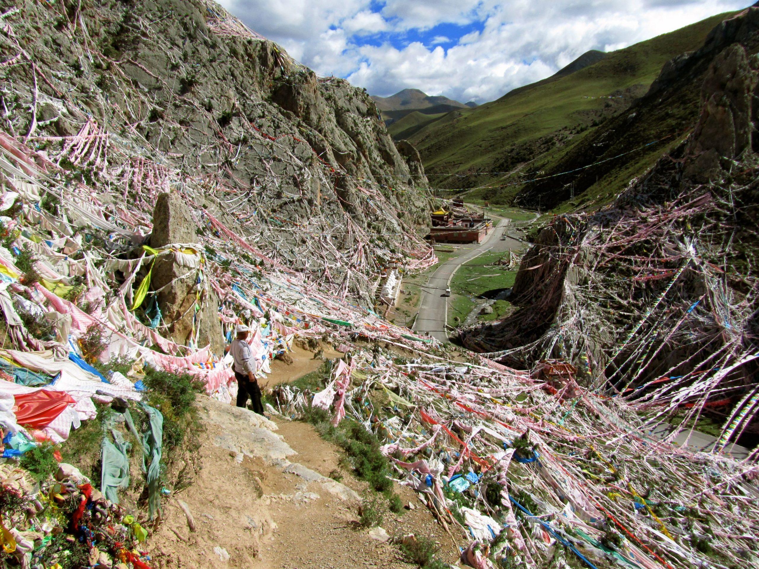 Wenchu monastery, Yushu, Amdo
