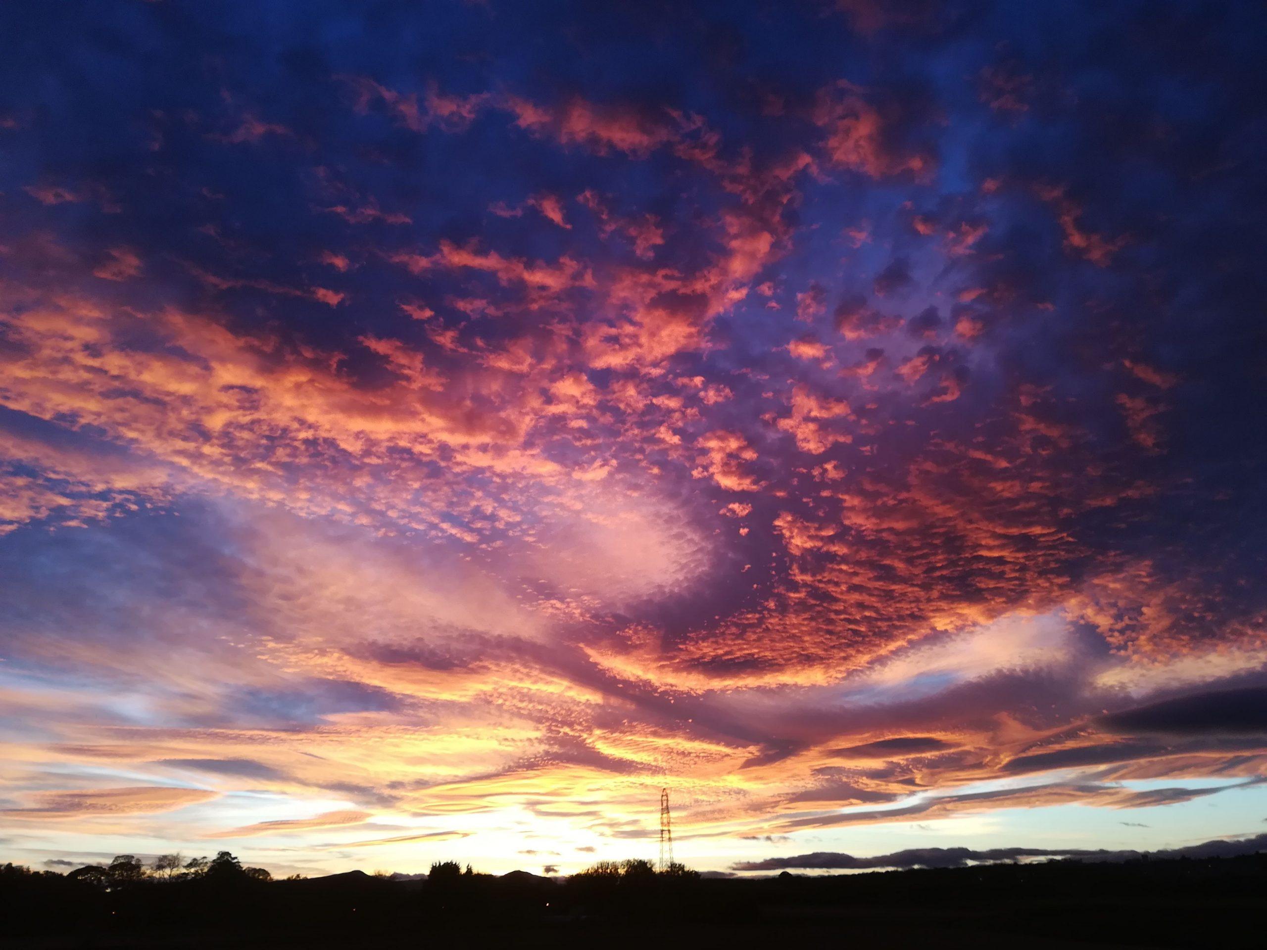 Cupar Sunset