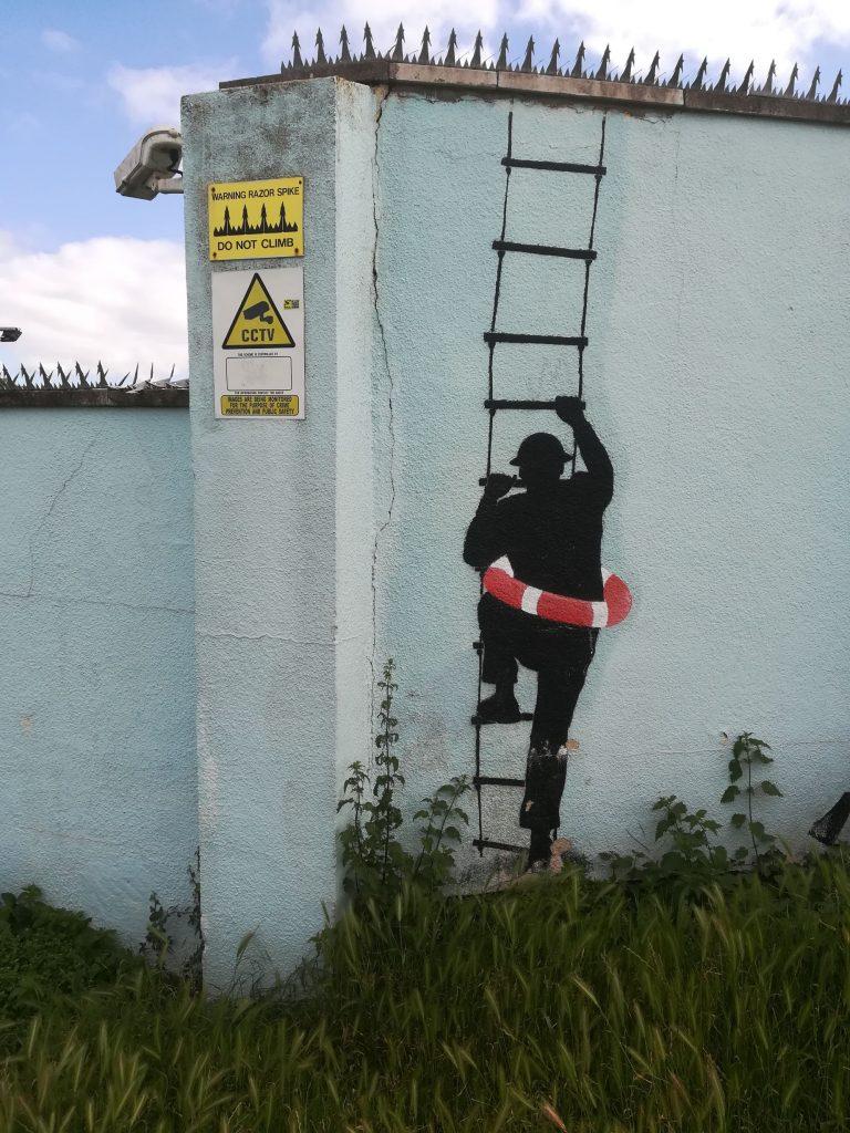 Banksy? Clevedon ?
